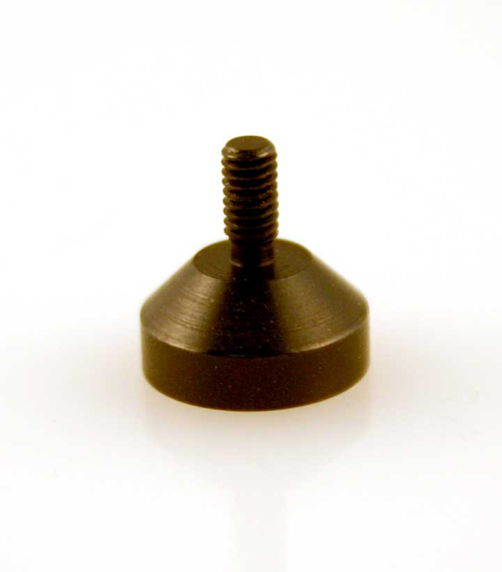AA-0250 10mm Button Flat Point