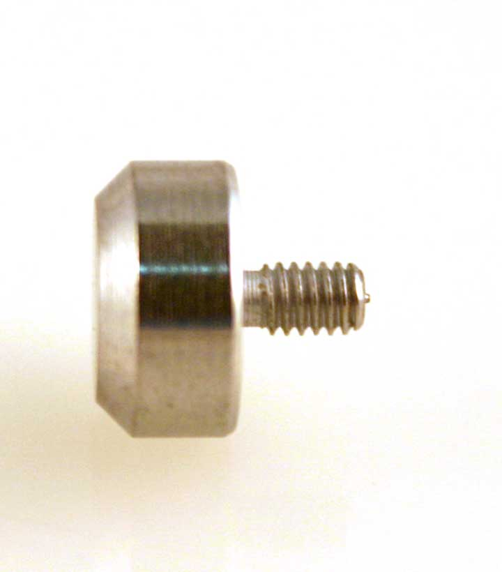 AA-824 Button Flat tapered Point