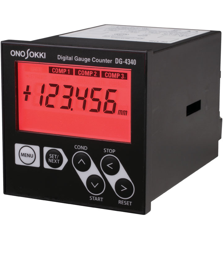 DG-4340 Color Changing GO/NOGO Comparator (English / Metric)